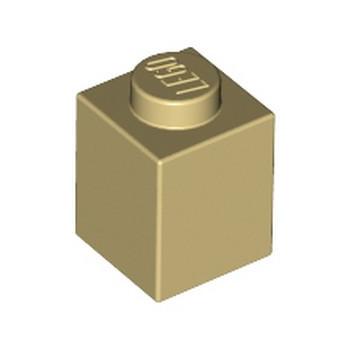 LEGO 4113915 BRICK 1X1 - TAN