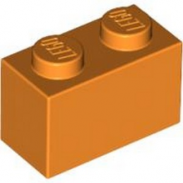 LEGO 4613981 BRICK 1X2 - ORANGE