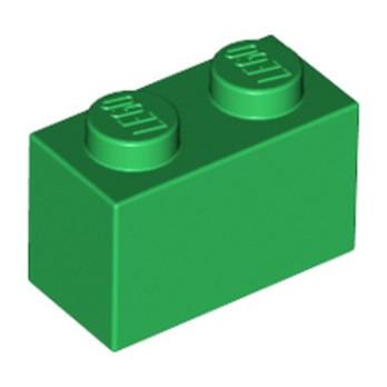 LEGO 4107736 BRIQUE 1X2 - DARK GREEN