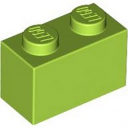 LEGO 4613965 BRICK 1X2 - BRIGHT YELLOWISH GREEN lego-4613965-brick-1x2-bright-yellowish-green ici :
