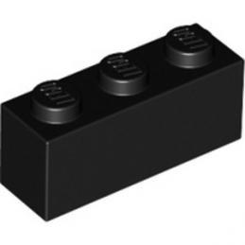 LEGO 362226 BRICK 1X3 - BLACK