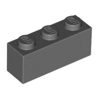 LEGO 4211104 BRICK 1X3 - DARK STONE GREY