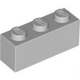 LEGO 4211428 BRIQUE 1X3 - MEDIUM STONE GREY