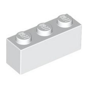 LEGO 362201 BRICK 1X3 - WHITE