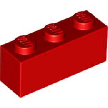 LEGO 362221 BRICK 1X3 - RED