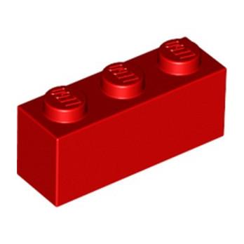 LEGO 362221 BRIQUE 1X3 - ROUGE