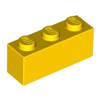 LEGO 362224 BRIQUE 1X3 - JAUNE