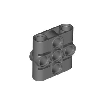 LEGO 6317653 CONNECTOR BEAM 1X3X3 - DARK STONE GREY lego-6317653-connector-beam-1x3x3-dark-stone-grey ici :