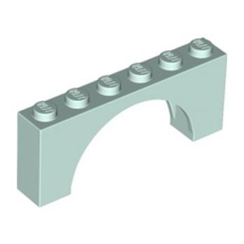 LEGO 6325976 BRICK W/ INSIDE BOW 1X6X2 - AQUA lego-6325976-brick-w-inside-bow-1x6x2-aqua ici :