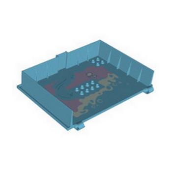LEGO 6333413 DESIGN PLATE, BOOK, W/4.85 HOLE PRINTED - MEDIUM AZUR lego-6333413-design-plate-book-w485-hole-printed-medium-azur ici :