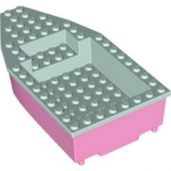 LEGO 6332460 BOAT 8X16X3 - BRIGHT PINK