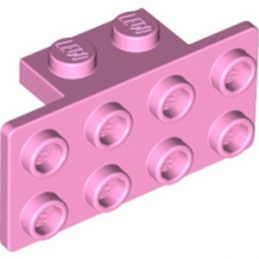 LEGO 6122589 ANGLE PLATE 1X2 / 2X4 - BRIGHT PINK