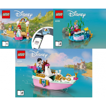 Instructions Lego® Disney 43191