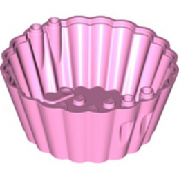 LEGO 6331525 CUPCAKE MOLD - BRIGHT PINK lego-6331525-cupcake-mold-8x8x3-bright-pink ici :