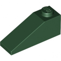 LEGO 6168573 ROOF TILE 1X3/25° - EARTH GREEN