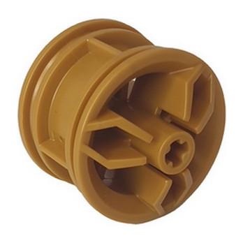 LEGO 6305023 RIM, WIDE, DIA. 30X20, W/ CROSS HOLE - WARM GOLD