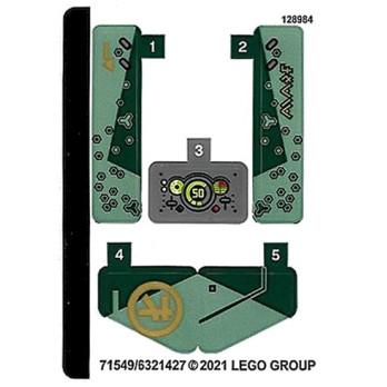 Stickers Lego® Ninjago - 71745