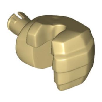 LEGO 6300291 MAIN GEANT GAUCHE - BEIGE lego-6300291-main-geant-gauche-beige ici :