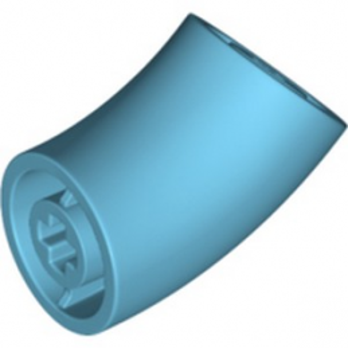 LEGO 6322807 DESIGN ELEMENT,DEG.135,W/ CROSSHOLE - MEDIUM AZUR
