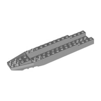 LEGO 6336566 SHIP FRONT 4X16X1 1/3 - MEDIUM STONE GREY