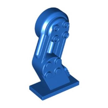 LEGO 6323453 LEFT LEG, W/ KNOBS - BLUE