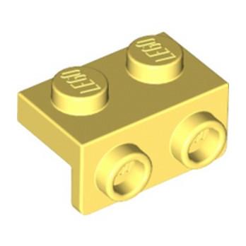LEGO 6296497 ANGULAR PLATE 1,5 TOP 1X2 1/2 - COOL YELLOW lego-6296497-angular-plate-15-top-1x2-12-cool-yellow ici :