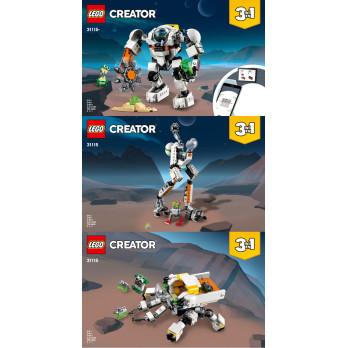 Instructions Lego Creator 31115