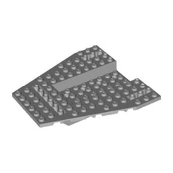 LEGO 6250322 SHIP FRONT 12X12X1 1/3 - MEDIUM STONE GREY