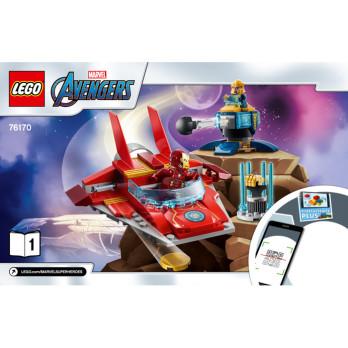 Instructions Lego® Marvel 76170