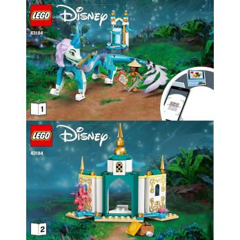 Instructions Lego® Disney 43184