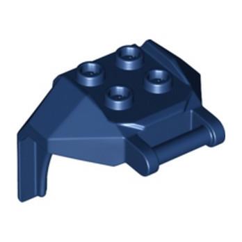 LEGO 6330153 DESIGN, BRICK 4X3X3, W/ 3.2 SHAFT - EARTH BLUE lego-6330153-design-brick-4x3x3-w-32-shaft-earth-blue ici :