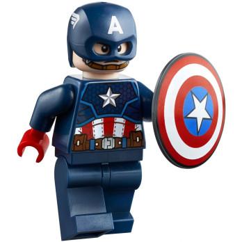 Minifigure LEGO® Super Heroes Marvel Avengers - Captain America minifigure-lego-marvel-avengers-captain-america ici :