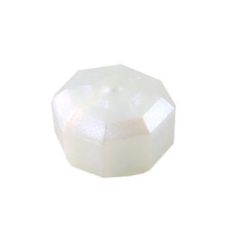 LEGO 6287309 DESIGN PLATE, 1X1X2/3 - TRANSPARENT OPALESCENCE