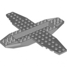LEGO 6313019 PLANE BOTTOM 18X16X1X1 1/3 - MEDIUM STONE GREY