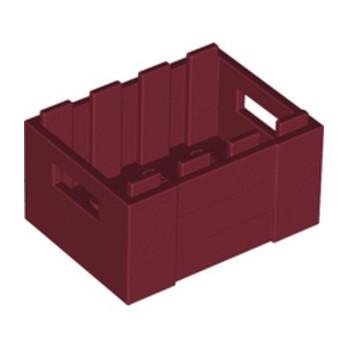 LEGO 6310874 BOX 3X4 - NEW DARK RED lego-6310874-box-3x4-new-dark-red ici :