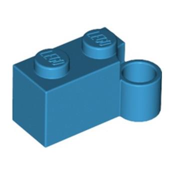 LEGO 6322477 HINGE 1X2 LOWER PART - DARK AZUR