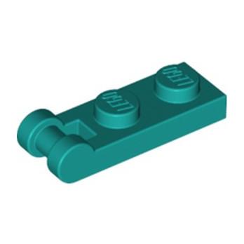 LEGO 6295286 PLATE 1X2 W/SHAFT Ø3.2 - BRIGHT BLUEGREEN lego-6295286-plate-1x2-wshaft-o32-bright-bluegreen ici :