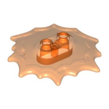 LEGO 6327465 DESIGN PLATE, 5X5X2/3 - TRANSPARENT ORANGE lego-6327465-design-plate-5x5x23-transparent-orange ici :