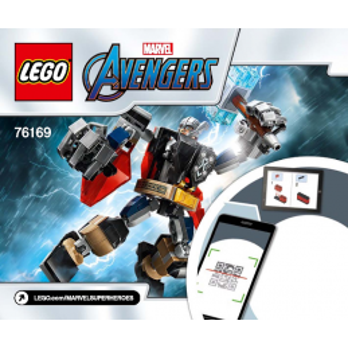 Instructions Lego® Marvel Avengers - 76169
