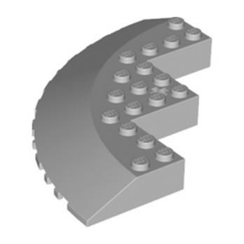 LEGO 4532853 CIRCLE 90D 10X10, WRY 18D - MEDIUM STONE GREY