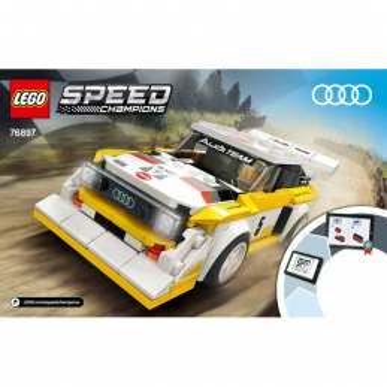 Instructions Lego Speed Champions 76897