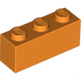 LEGO 4118787 BRICK 1X3 - ORANGE
