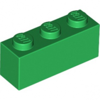 LEGO 4109679 BRICK 1X3 - DARK GREEN