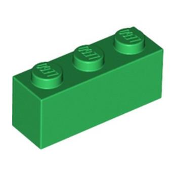LEGO 4109679 BRIQUE 1X3 - DARK GREEN