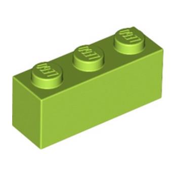 LEGO 4166093 BRICK 1X3 - BRIGHT YELLOWISH GREEN