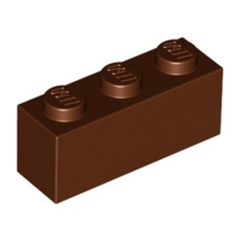 LEGO 4245312 BRIQUE 1X3 - REDDISH BROWN