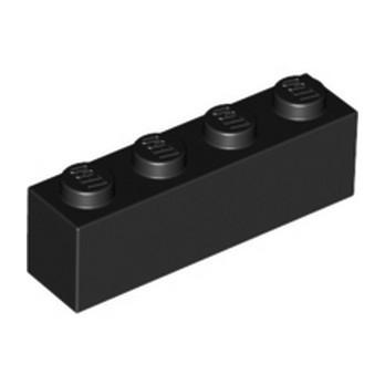 LEGO 301026 BRICK 1X4 - BLACK