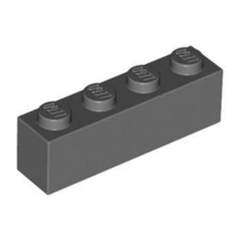 LEGO 4211103 BRICK 1X4 - DARK STONE GREY
