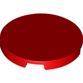 LEGO 6331874 TILE 3X3, CIRCLE - RED