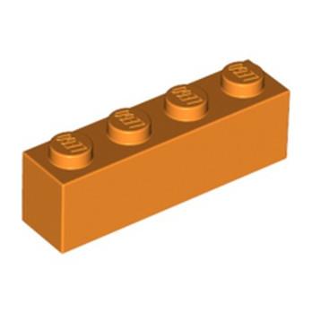 LEGO 4118827 BRICK 1X4 - ORANGE